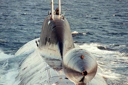 Submarino ruso Akula