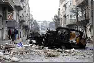 Actual guerra en Siria