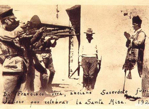 Persecución religiosa en México
